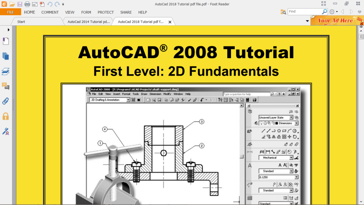 AutoCad 2018 Tutorial pdf file download – Vray + SketchUp
